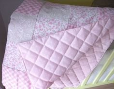 8 - Manta de tela para bebe patchwork tutorial hazlo tu mismo diy regalo Lolahn Handmade - Acabada
