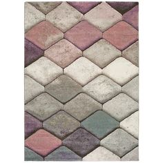 Koberec Universal Multi Mubis, 120 × 170 cm | Bonami Pink And Grey Rug, Grey Rugs, Living Room Carpet, Rugs In Living Room, Jute, Rug Shapes, Modern Rugs, Primary Colors, Rug Size