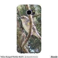 Yellow Rumped Warbler Bird Photo Samsung Galaxy S6 Cases