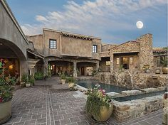 Spectacular ''Villa Paradiso'' a new Italian-inspired luxury estate that captures the charm & character of Old-World Tuscany. Rich European textures & Renaissance-style architecture are perfectly executed by master craftsman on 5 very private acres that border a 2,000 acre nature preserve. #zillow