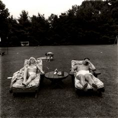 Diane Arbus (American, 1923-1971) A Family On Their Lawn One Sunday In Westchester, NY, 1968