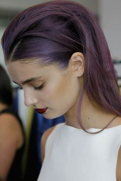 Sleek Hair Inspiration for Party Season 2014