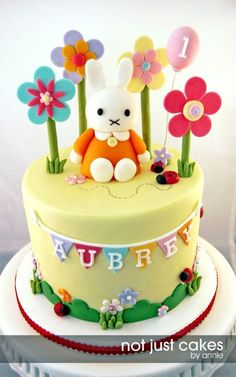 Miffy Cake And Cupcakes For Aubrey Call it sacrilege but i did not know miffy was miffy going into this cake project. i just knew she was...