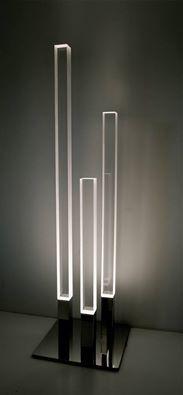 Minimalist Acrylic Floor Light by Jonahoad Design