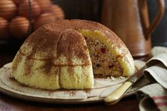 For a truly Italian-inspired dessert try this tempting zuccotto.