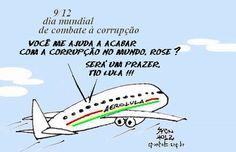 Lula e Rose no Dia Mundial de Combate à corrupção