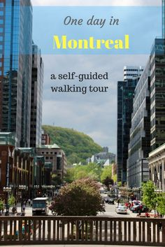 This full day walking tour starts at Notre-Dame Basilica and covers Montreal's highlights. But it's better to spread it over 2 days if you have the time. Also contains suggestions of affordable places to spend the night.