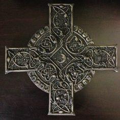 Details About Celtic Cross Irish Goth Tattoo Druids Wicca