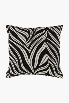 Jacquard Zebra Scatter Cushion, - Shop New In - Home Décor -