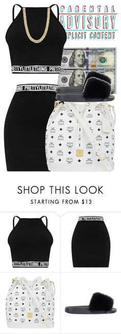 """""""Untitled #397"""" by sarajordan2993 ❤ liked on Polyvore featuring MCM, Givenchy and Pieces"""