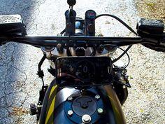 Kawasaki ZX750R Ninja Street Tracker by The Fuel Haus #motorcycles #streettracker #motos | caferacerpasion.com