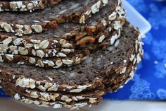 This Danish Rye Bread recipe (rugbrød) is authentic, easy to make and tastes absolutely incredible! You will find yourself making it again and again! Danish Rye Bread, Danish Food, Easy Meals, Healthy Meals, Healthy Food, Healthy Eating, Healthy Recipes, Rye Berries, Rye Bread Recipes