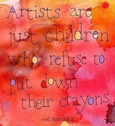Artists are just children who refuse to put down their crayons - Al Hirschfeld Solavei will allow the artist in you to keep coloring... find out how. Click on the art...
