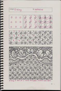 K-Ning-tangle pattern