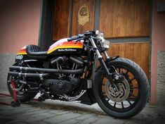Harley Davidson Sporster By Greaser Garage IT