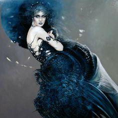 Polish Artist Karol Bak. Beautiful Angels and Demons ~ Blog of an Art Admirer