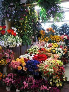 Friday markets in Ventimiglia in Italy