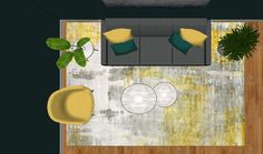Hvordan velge gulvteppe til stuen - Innredningsguiden
