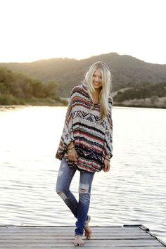 winter-boho-outfit-women