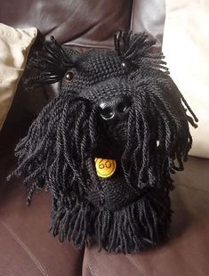 Crocheting: Amigurumi Scottie Dog hello Sister!!! you need to make one of these!!!