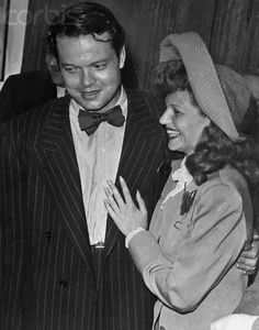 Orson Welles and Rita Hayworth, 1943