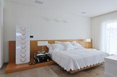 luxury apartment / Lev-gargir Architects #modern #bedroom #interior design