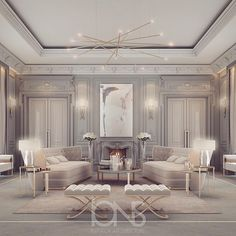 Pale hues by @ionsdesign . . . . . . . . . #dubai #art #interiordesign #style #lights #architecture #apartment #chic #french #symmetry #daily #design #decor #detail #interiordesign #interior #luxe #house #home #door #furniture #glam #classic
