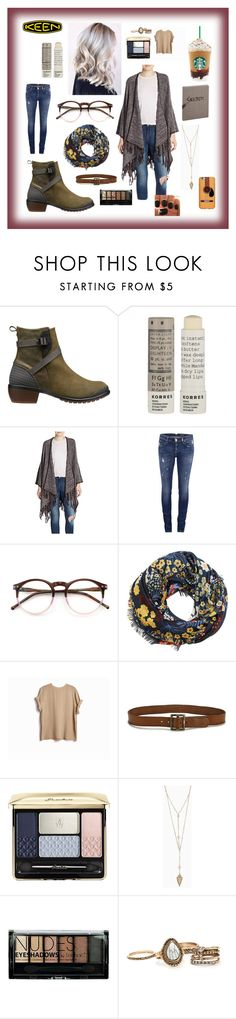 """""""So Fresh and So Keen: Contest Entry"""" by careyjohnson-cj ❤ liked on Polyvore featuring Keen Footwear, Korres, Kensie, ONLY, Wildfox, MANGO, Paige Denim, Guerlain, Boohoo and Gatsby"""