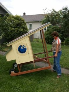 Urban chicken coop I like that it is mobile. Urban chicken coop I like that it is mobile. Urban Chicken Coop, Backyard Chicken Coops, Chicken Coop Plans, Building A Chicken Coop, Diy Chicken Coop, Chickens Backyard, Mobile Chicken Coop, Chicken Coup, Chicken Runs