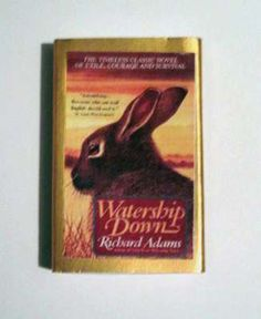 Watership Down - Book Cover Literary Matchbook
