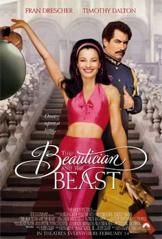 The Beautician and the Beast , starring Fran Drescher, Timothy Dalton, Ian McNeice, Patrick Malahide. A New York cosmetologist mistakenly thought to be a science teacher is offered a job to teach the children of an Eastern European dictator. Fran Drescher, Sylvester Stallone, Movies Showing, Movies And Tv Shows, Fran Fine, The Beast Movie, Timothy Dalton, Image Film, Kino Film