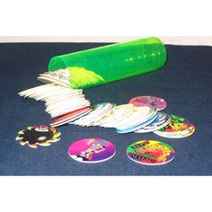 Pogs!!!!! God I loved these things! I still have a few.