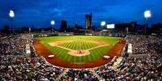 TinCaps game in Fort Wayne Indiana. Tom, my friend Lisa (her husband Joe was suppose to go) and me went to a game here. Great time!!!
