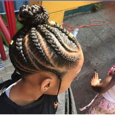 If you have been looking for little girl braids with beads that will give your little girl sweet smi Toddler Braided Hairstyles, Toddler Braids, Lil Girl Hairstyles, Bun Hairstyles For Long Hair, Natural Hairstyles For Kids, Braids For Kids, My Hairstyle, Girls Braids, Braid Hairstyles