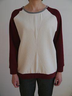 Bluza z pikowanym jedwabiem 2 w Sister's na DaWanda.com