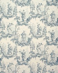 Chinese Toile Ming Blue från Lewis & Wood