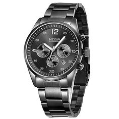 Men's Watches Watches Earnest Hot Luxury Fashion Watches Men Watch Military Sport Casual Quartz Wristwatches Male Clock Saat Relogio Masculino Reloj Hombre