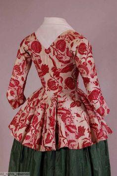 18th century Chinz jackets. (Mostly Dutch)