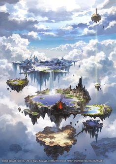 20 drawn fairytale worlds- 20 нарисованных сказочных миров 20 drawn fairytale worlds - Fantasy Artwork, Fantasy Art Landscapes, Fantasy Concept Art, Fantasy Landscape, Landscape Art, Fantasy City, Fantasy Places, Fantasy Kunst, Fantasy World