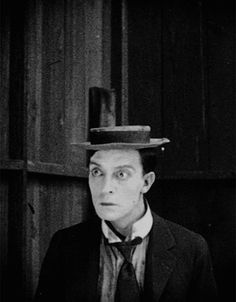 Buster Keaton. And the jumping hat.