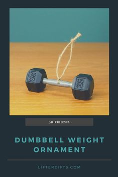 Get your own custom dumbbell ornament to remind yourself (or your friends) to work out, or to remember your joy or working out. Crossfit Gifts, Crossfit Wods, Fitness Gifts, Mens Fitness, Kettlebell Routines, Gifts For Personal Trainer, 3d Art, Home Gym Decor, Gym Buddy