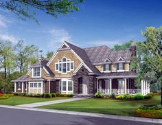 House Plan 87607 | Craftsman    Plan with 5045 Sq. Ft., 4 Bedrooms, 4 Bathrooms, 3 Car Garage