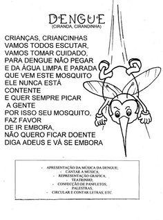 """Projeto """"Eu contra a Dengue"""" - ESPAÇO EDUCAR"""