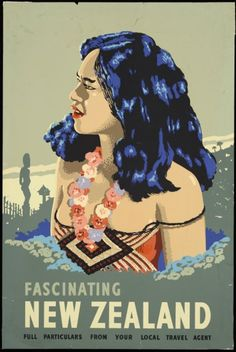 New Zealand Tourism Poster 1930s