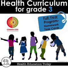"Still need to get Health standards taught to your 3rd grade class this year?  No problem-get the ""EASY-TO-TEACH"" program that can be done as homework!!!"