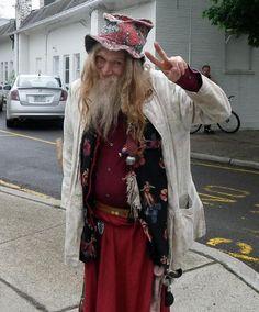 Old hippi