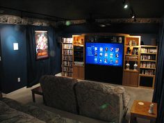 Red Home Theater   Google Search | Home Theater | Pinterest | Theatre Design,  Movie Theater Rooms And Game Room Decor