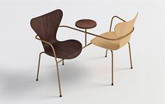 Galeria - BIG, Jean Nouvel e 5 outros arquitetos reinterpretam a cadeira Series 7 de Arne Jacobsen - 11