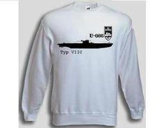Pullover U-666  Pullover U-Boot 666 Typ VIIC. Der U-666 Pullover ist in den Größen S-XXL erhältlich. Auf dem Pullover ist das berühmte deutsche U-Boot U-666 der Klasse VIIC abgebildet. / mehr Infos auf: www.Guntia-Militaria-Shop.de