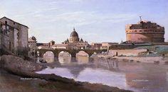 photo 780 Jean-Baptiste-Camille Corot - 826 Rome Castle Sant Angelo-1826_zpsaaegzzt6.jpg